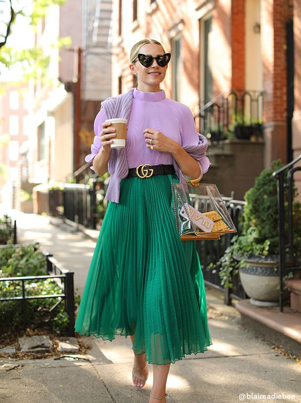 Pleated Perfection