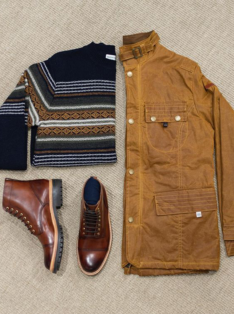YOUR COLD-WEATHER CAPSULE WARDROBE
